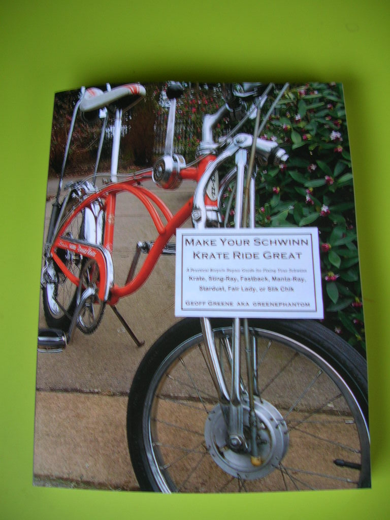 Make Your Schwinn Krate Ride Great book stingray